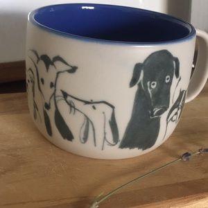 Anthropologie Kitchen - ANTHROPOLOGIE Dog Person Oversized Coffee Mug 12oz